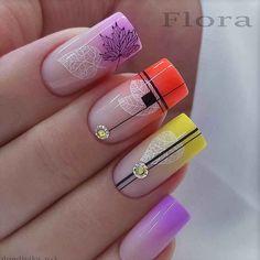 Autumn Nails, Fall Nail Art, Spring Nails, Summer Nails, Fancy Nails, Cute Nails, Pretty Nails, Cute Nail Designs, Fall Nail Designs