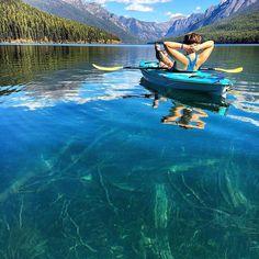 Bowman Lake, Glacier National Park. Photo by: @emilyhallemily Explore. Share. Inspire: #earthfocus #pretty #nature #beautiful