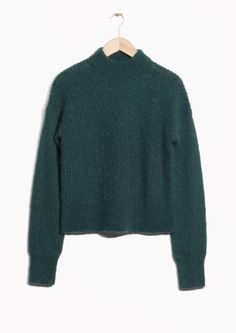 & Other Stories   Wool & Mohair Jumper