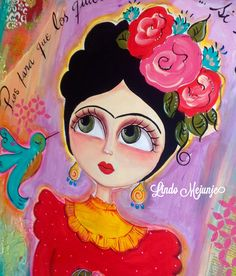 Frida Kahlo por lindo Mejunje de Calu Gallard