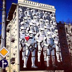 street art / mural (Moscow)