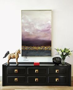 Abstract Painting Landscape Abstract Oil Painting Wall Art Gold Painting Modern Art Original Painting On Canvas Painting by Julia Kotenko by JuliaKotenkoArt on Etsy