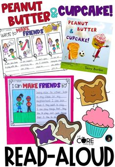 Peanut Butter and Cupcake is the perfect read-aloud for teaching about friendship.