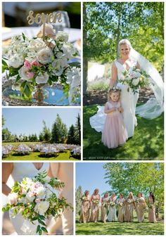 Amazing white blush and ivory wedding summer wedding wedding flowers bridal bouquets