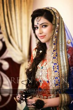 Pakistani Bride ♡ ❤ ♡ Pakistani Wedding Dress, Pakistani Style Follow me here MrZeshan Sadiq