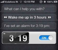 Use this simple Siri command for taking naps.