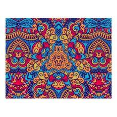 Indian Dream Kaleidoscope Postcard   yoga products, sculpt yoga, yoga diet #yogavida #yoga #yogi, 4th of july party Postcard Art, Postcard Size, Face Yoga Method, Yoga Day, How To Start Yoga, Pattern Art, Namaste, 4th Of July, Kids Rugs