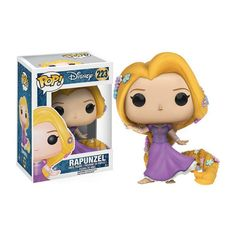 This is a Disney Tangled POP Rapunzel Vinyl Figure that is produced by Funko. This Rapunzel POP Vinyl features Rapunzel in her princess gown. It's always great to see a Disney Princess POP Disney Pop, Disney Rapunzel, Tangled Rapunzel, Princess Rapunzel, Disney Princesses, Princess Gowns, Punk Disney, Disney Dolls, Princess Bubblegum