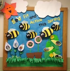 Health bulletin board for April