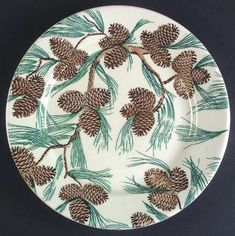 Tepco China pine cone pattern