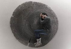 Carpet That Looks Like a Tree Ring - http://freshome.com/2010/05/10/carpet-that-looks-like-a-tree-ring/