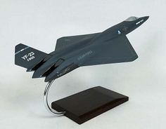 YF-23 Advanced Fighter Military Aircraft Model