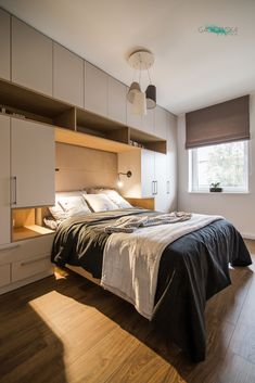 Small Room Design Bedroom, Small Bedroom Interior, Modern Luxury Bedroom, Bedroom Closet Design, Apartment Bedroom Decor, Bedroom Furniture Design, Stylish Bedroom, Home Room Design, Large Bedroom