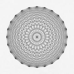 ●●●●●●●●●● ●●●●●●●● Drawing by Cyril Galmiche #circle #line #drawing #circular #round #geometry #screenprinting #minimalism #worksonpaper #Handmade #Bw #Blackandwhite #circular