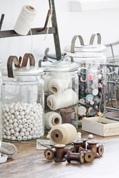 organiser un coin couture A is for ATELIER A workshop or studio, but can also be described as a place where fine sewing and embroidery is done; for example; the workrooms of couture houses. Definition provided by B Viz Design