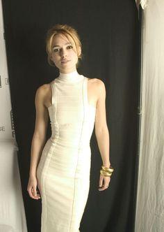 Keira Knightley White Dress 8