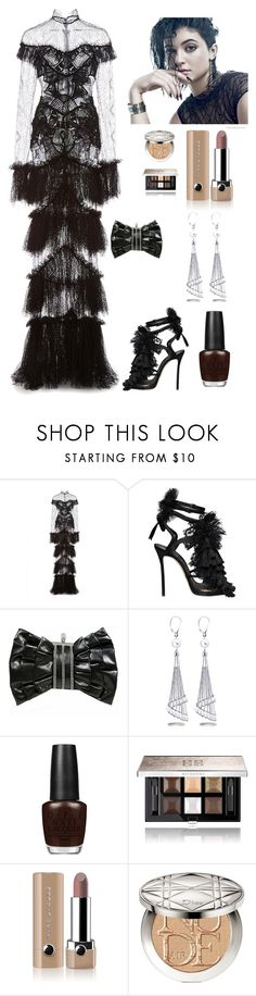 """""""Glamorous in the Summer"""" by kotnourka ❤ liked on Polyvore featuring Dsquared2, Chanel, Allurez, OPI, Givenchy, Marc Jacobs and Christian Dior"""