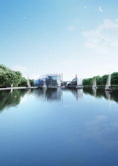 Hotel for Yachtsmen  Architect: Arsenii Kuznetsov