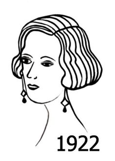 136 best 1920s images on pinterest vintage photography vintage Prohibition 1920s New York silhouette line drawing of hairstyle 1922 line drawing 1920s hairstyle needlework