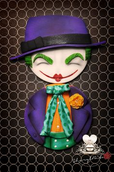 Jack Nicholson as the Joker from Batman 1989 for the Cakenweenie collaboration