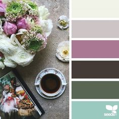 today's inspiration image for { color arrange } is by @clangart ... thank you, Chantal, for another wonderfully inspiring #SeedsColor image share!