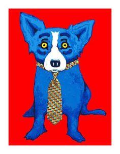 George Rodrigue - Blue Dog