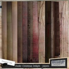 Dusky Christmas Delight - papers :: Papers :: Memory Scraps