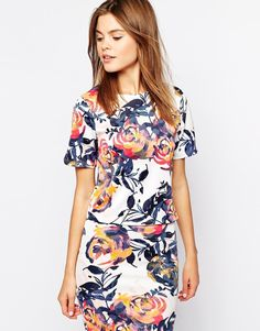 Floral co-ord top