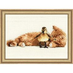 Dimensions® Furry Friends Counted Cross-Stitch Kit