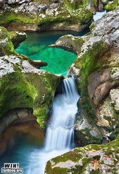 Waterfall Pinspiration: