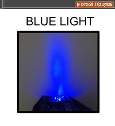 blue light - one of the primary light colours which make white light