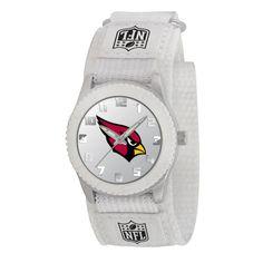 Arizona Cardinals NFL Kids Rookie Series Watch (White)
