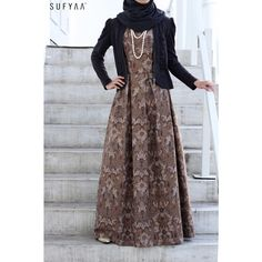 -Box Pleat Batik Dress- This beauty took our breath away because there's nothing more beautiful than an artisanal batik dress.  We almost couldn't bring our hearts to sell this beautiful piece but we know many will love this dress as much as we do so, to purchase, visit us at 03-15 TKC or email sales@sufyaa.com.sg for more info. *jacket is for styling purpose and sold separately. #sufyaa #sufyaatradisi #batik #artisanal #sufyaabespoke #singapore