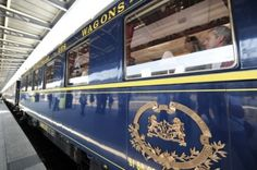 Inside the Orient Express.  Travel in style.  Would so love to do this