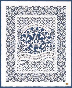 Shabbat prayer, Judaica, Hand Painted, Handmade in Israel, Prayers, Shabbat, Shabbos by ayinfey on Etsy