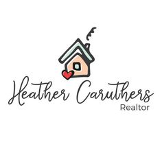 Premade Real Estate Logo - House & Heart Logo Design - Customized with Your…