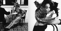 Big-Brimmed Balenciaga Hats Inspired by Irving Penn Images