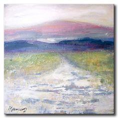 Winter landscape in pastel colors van mkraaijkamp op Etsy, $195,00