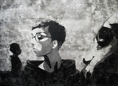 EHIKF (Acryl auf Holz, 70 x 51 cm)