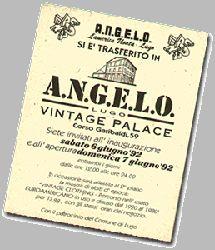 INAUGURATION OF A.N.G.E.L.O. VINTAGE PALACE 1992