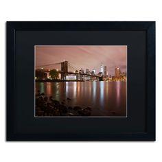 'Jane's Carousel, Brooklyn Bridge' by David Ayash Framed Photographic Print