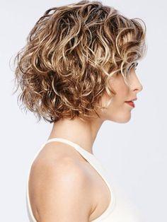 Messy Bob Hairstyles, Short Curly Haircuts, Curly Hair Cuts, Wig Hairstyles, Short Hair Cuts, Curly Hair Styles, Curly Short, Hairstyle Short, Short Wigs