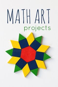There are some super cool ideas for math art projects for kids here!You can find Math art and more on our website.There are some super cool ideas for math art . Math Projects, Projects For Kids, Project Ideas, Math Crafts, Classroom Art Projects, Math Classroom, Kindergarten Math, Classroom Layout, Math Art
