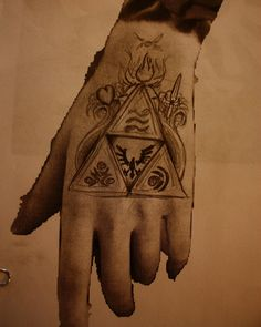 epic triforce tattoo