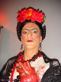 Hysterical Frida Kahlo Halloween costume idea