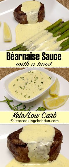 Béarnaise Sauce - Keto and Low Carb 6 Easy Low Carb Appetizers Recipes Healthy Low Carb Recipes, Ketogenic Recipes, Low Carb Keto, Keto Recipes, Cooking Recipes, Keto Foods, Sweets Recipes, Keto Sauces, Low Carb Sauces