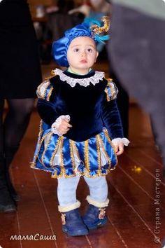 Как сшить костюм для маленького принца