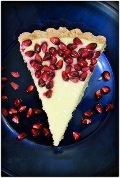 Pomegranate Meyer Lemon Tart !!! That sounds fabulous... <3