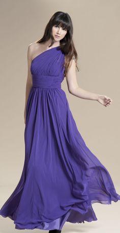 Would you wear a purple wedding dress? - http://boomerinas.com/2012/03/should-a-bride-wear-a-purple-wedding-dress/