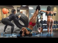 Evgeniya Mosienko   BOOTY Workout, Shoulders & Biceps Exercises, Abs Defined and Toned! @Ukraine - YouTube
